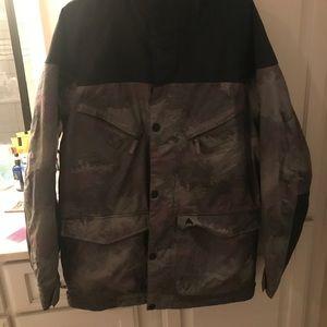 Men's Burton ski/snowboard jacket.